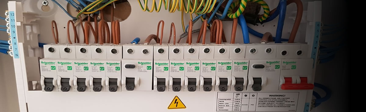 NICEIC registered electrical contractor, part p, chas, smas registered, trustmark approved electricians